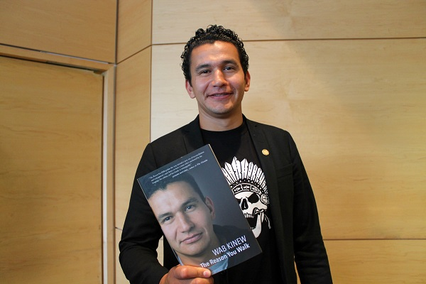 Canadian Hero Wab Kinew Drops Some Wisdom