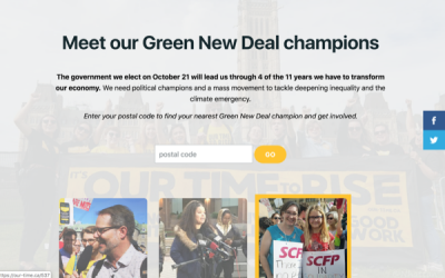 Electing Climate and Green New Deal Champions
